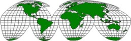 Weltkarte AIGL 2000