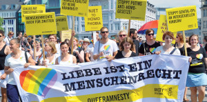 Intersex Demonstration