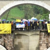 Amnesty Schweiz - Aktion in Bern